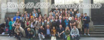 Más de 10000 alumnos formados