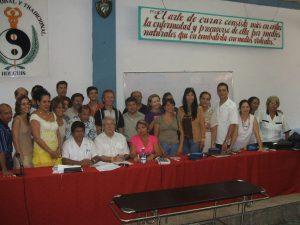 curso bioenergetica Cuba 2009
