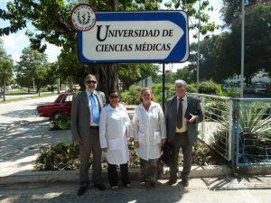 firma convenio colaboracion con UCM holguin - cuba (2012)
