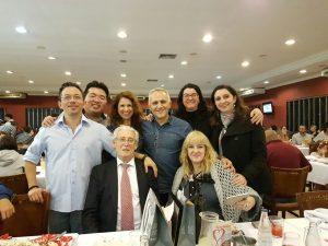 Foto de profesores de Cemetc en Brasil Mayo 2017