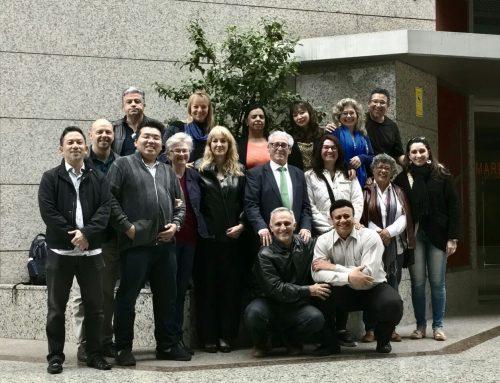 1er stage internacional de profesores de acupuntura de Brasil en España