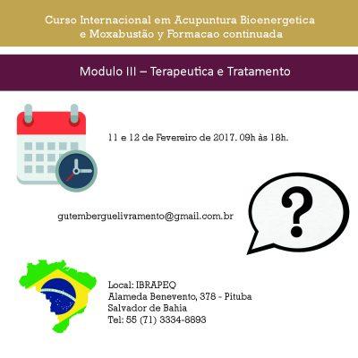 Modulo III – Terapeutica e Tratamento 11 y 12-2-17