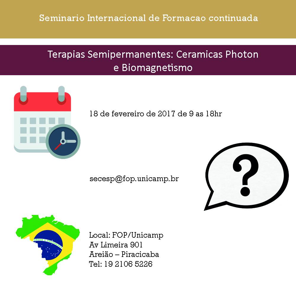 Terapias Semipermanentes: Ceramicas Photon e Biomagnetismo