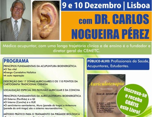 Curso Internacional de Auriculoterapia Bioenergética