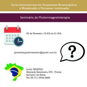 Seminário de Photonmagnetoterapia