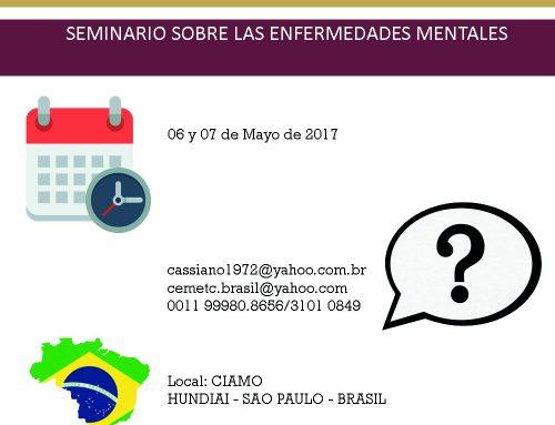 SEMINARIO SOBRE ENFERMEDADES MENTALES EN CIAMO
